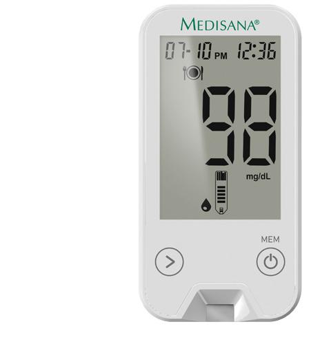 MediTouch 2 mg/dL   Bloedglucosemeter