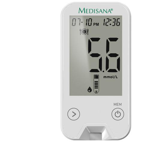 MediTouch 2 mmol/L | Bloedglucosemeter